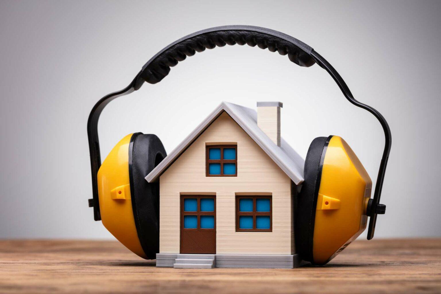 Isolation phonique de la maison