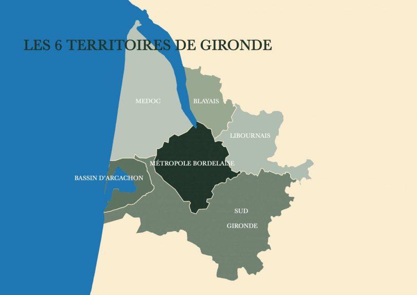 Faire construire sa maison en Gironde 6 zones