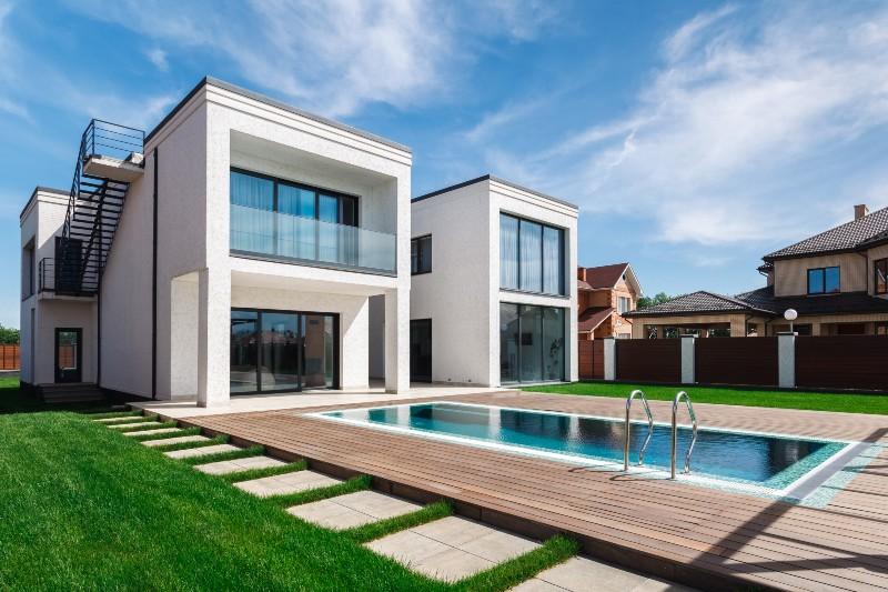 constructeur de maisons à toits plats terrasses