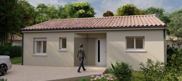 Vente maison à Andrest (65390) de 70 m2 habitable sur terrain de 500 m2