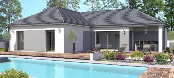Vente maison à Bordes (64510) de 102 m2 habitable sur terrain de 610 m2