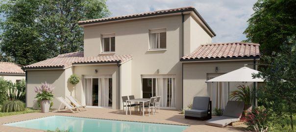 Vente maison à Bretagne de marsan (40280) de 125 m2 habitable sur terrain de 686 m2