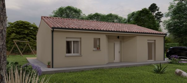 Vente maison à Escondeaux (65140) de 80 m2 habitable sur terrain de 1560 m2
