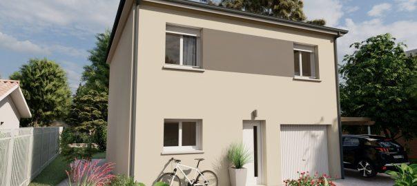 Vente maison à Le fossat (09130) de 95 m2 habitable sur terrain de 538 m2