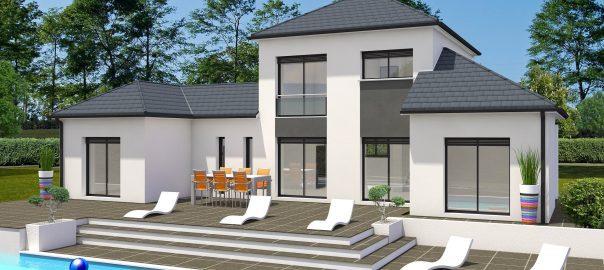 Vente maison à Serres castet (64121) de 124 m2 habitable sur terrain de 738 m2
