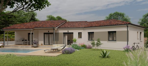 Vente maison à Siarrouy (65500) de 125 m2 habitable sur terrain de 1600 m2