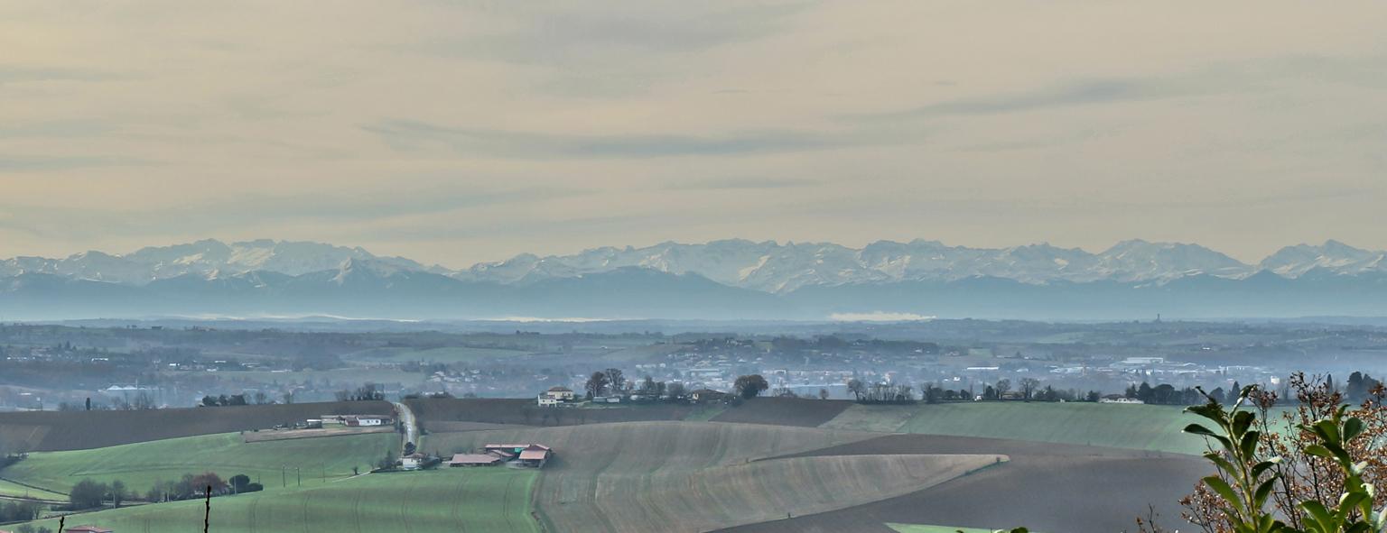 Faire construire sa maison : en haute Garonne, la vue sur les pyrénées est appréciée