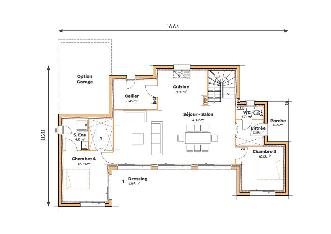 MAISONS_SIC_Atrium_pente60_plans