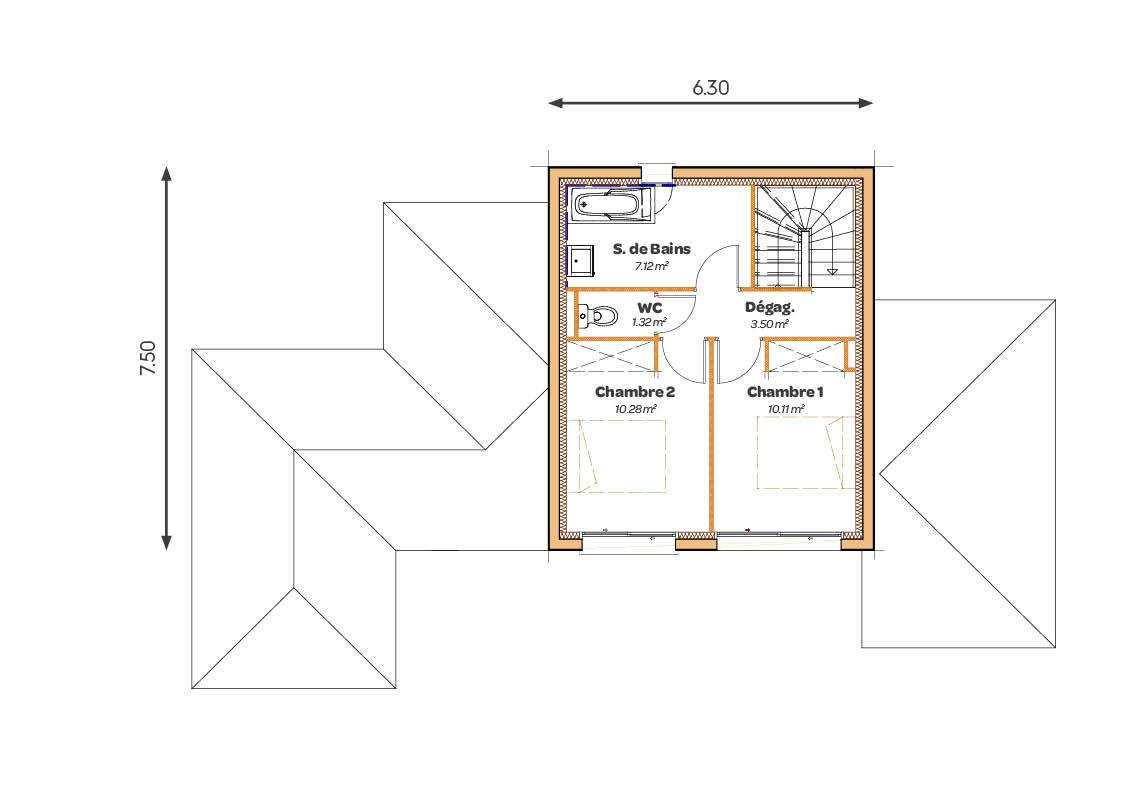 MAISONS_SIC_Atrium_pente60_plans2