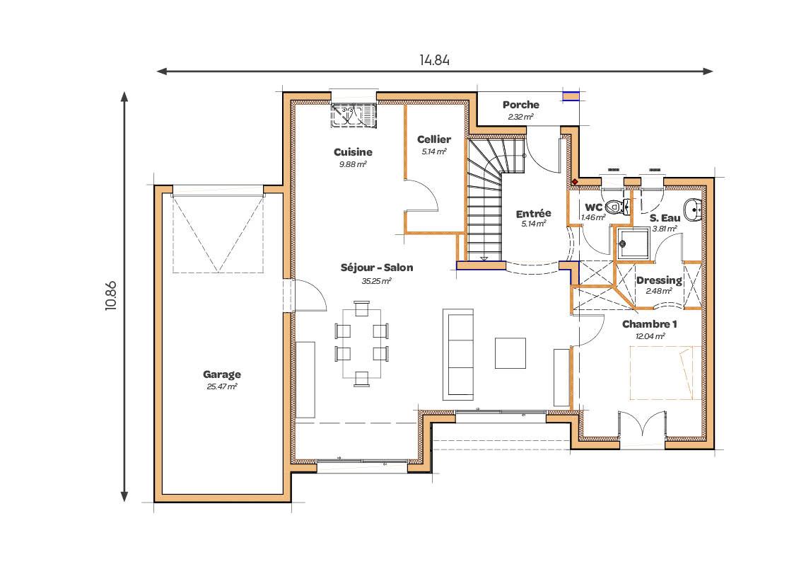 MAISONS_SIC_Regency_pente60_125_plans
