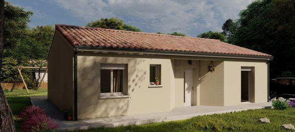 Vente maison à Foulayronnes (47510) de 80 m2 habitable sur terrain de 471 m2