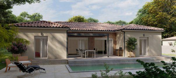 Vente maison à Roquefort (47310) de 105 m2 habitable sur terrain de 753 m2