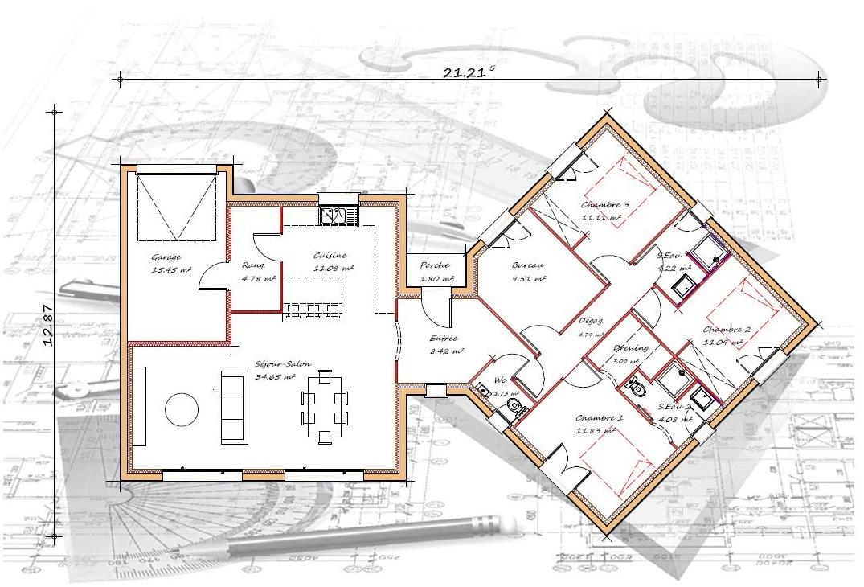 Vente maison à Bas mauco (40500) de 120 m2 habitable sur terrain de 690 m2