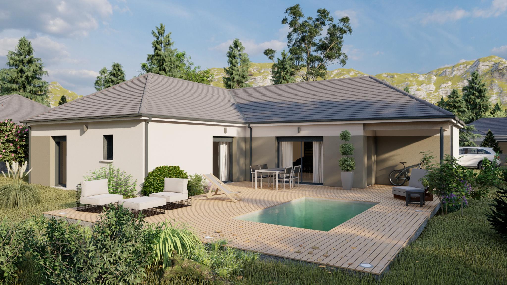 Vente maison à Beuste (64800) de 120 m2 habitable sur terrain de 688 m2