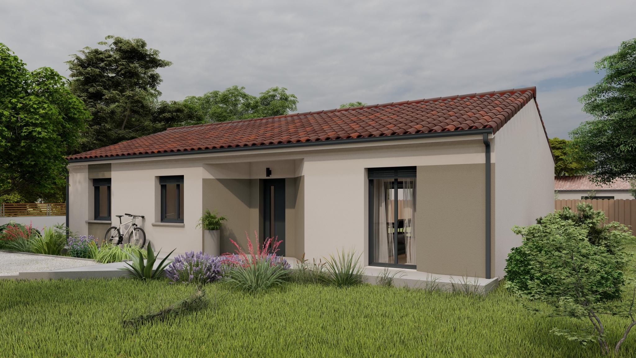 Vente maison à Fumel (47500) de 102 m2 habitable sur terrain de 1635 m2