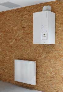 chaudiere gaz et radiateur